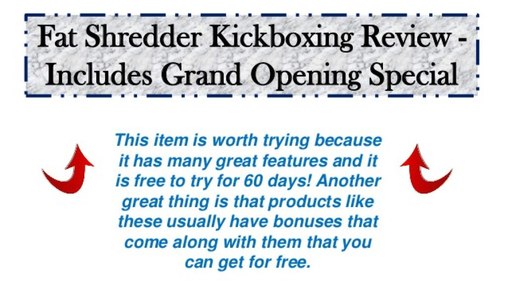 Fat Shredder Kickboxing